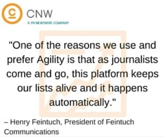 Henry Feintuch, President of Feintuch Communications (CNW Group/CNW Group Ltd.)