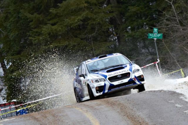 2017 Rally of the Tall Pines (CNW Group/Subaru Canada Inc.)