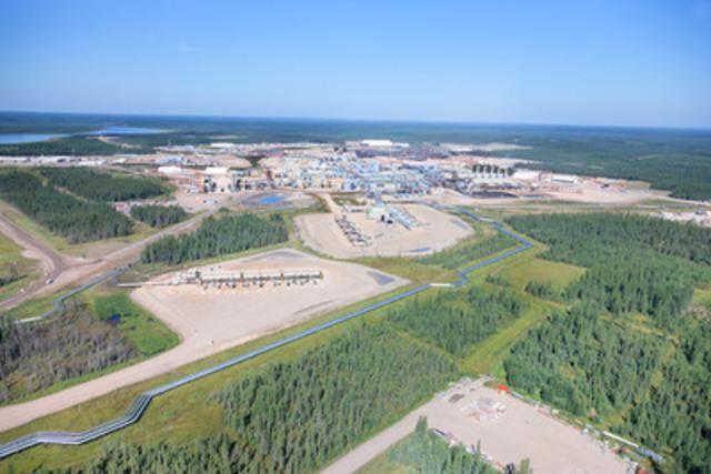 Cenovus's Foster Creek oil sands operation in northern Alberta (CNW Group/Cenovus Energy Inc.)
