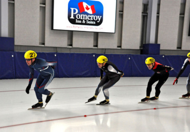 2012 Canadian Open Masters Speed Skating Championship, February 4 &5, Fort St. John, BC. (CNW Group/City of Fort St. John)
