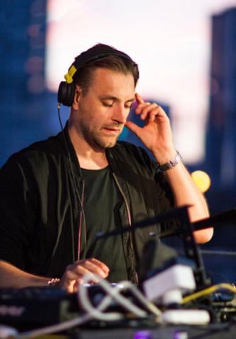 DJ Joel Mull - AIM Pop Up June 3, 2015 @BassinPeel - billets: Aimexperience.com (CNW Group/Experience AIM)