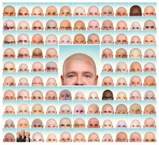 Défi têtes rasées - 100 personnalités sans cheveux (Groupe CNW/LEUCAN)