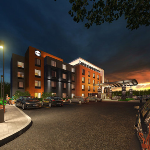 Hotello by Pomeroy is a fresh take on an old classic. It is a cost-effective limited-service hotel targeted at every kind of travellers. Modern design with an emphasis on technology, value is found in large common areas, free Wi-Fi and complimentary breakfast (CNW Group/Pomeroy Lodging LP)
