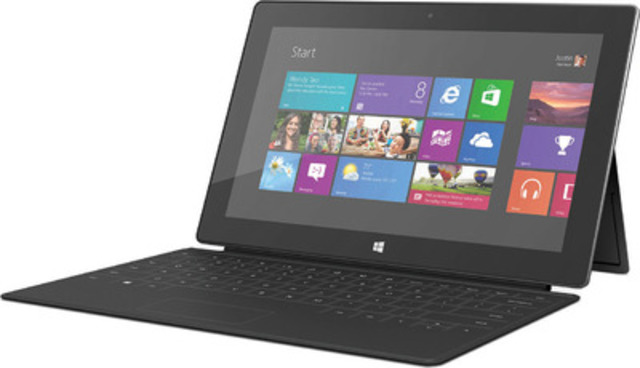 The Surface RT bundle is a great gift for the holidays for only $249. It's the gift that keeps on giving with so many options like terrific reading, watching favourite shows, gaming and so much more. Available on Black Friday in-store or online at staples.ca (CNW Group/Staples Canada Inc.)