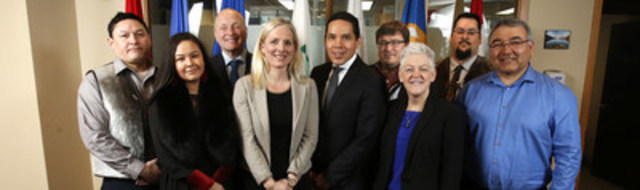 On April 7, 2016, the Minister of Environment and Climate Change, Catherine McKenna, and the U.S. Environmental Protection Agency (EPA) Administrator, Gina McCarthy, met with leaders of the Inuit Tapiriit Kanatami (ITK) during the EPA Administrator's visit to Ottawa, Ontario. (CNW Group/Environment and Climate Change Canada)
