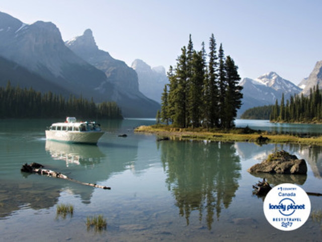 LONELY PLANET PLACE LE CANADA EN TÊTE (Groupe CNW/Destination Canada)