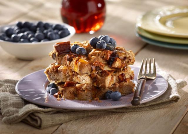 Udi's Overnight Cinnamon Raisin French Toast Bake (CNW Group/Udi's Healthy Foods LLC)