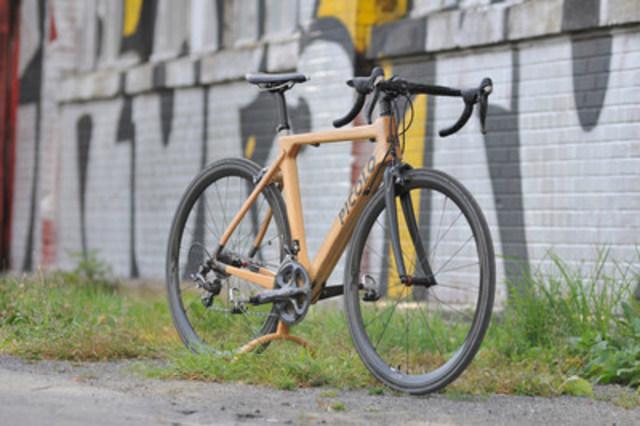 2e prototype de Picolo Vélo, fabriqué entièrement à Montréal. Crédit photo : Alexandre Choquette. (Groupe CNW/Picolo Vélo)