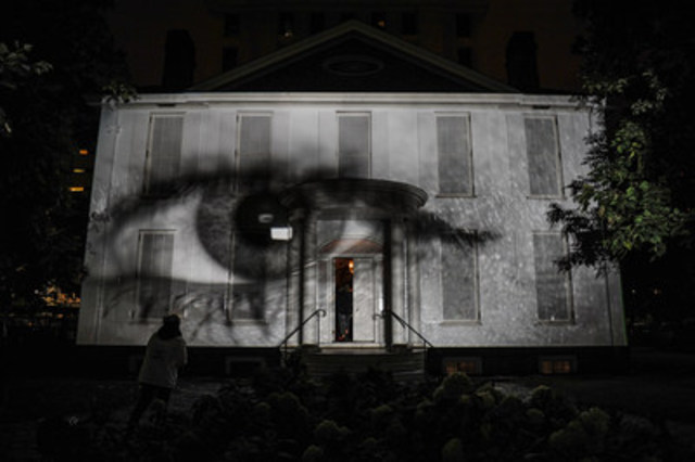Campbell's House: Your Eye Inside Out (CNW Group/City of Toronto)