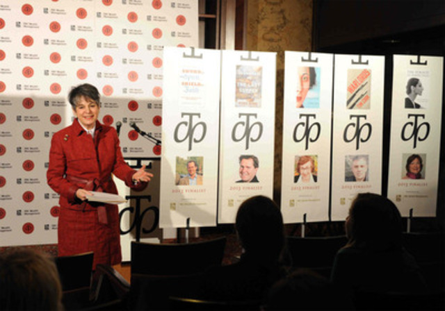 Noreen Taylor, founder and chair of The Charles Taylor Prize for Literary Non-Fiction, is enthusiastic about ...