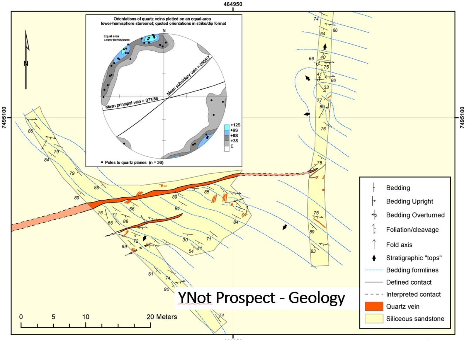 YNot Prospect - Geology