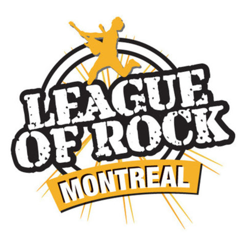 League of Rock Montreal Logo English (CNW Group/La Ligue du Rock Montréal Inc.)