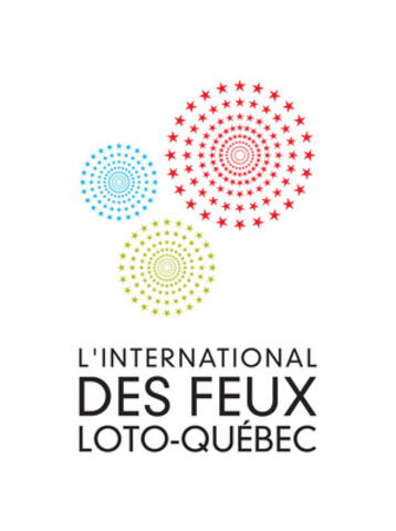 Logo of L'International des Feux Loto-Québec (CNW Group/La Ronde)