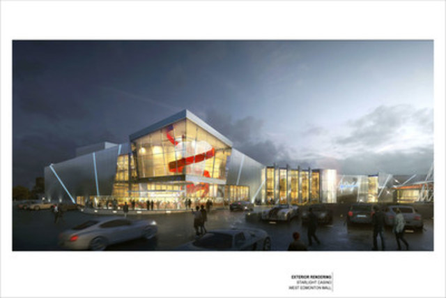 Exterior Rendering (CNW Group/Gateway Casinos & Entertainment Limited)