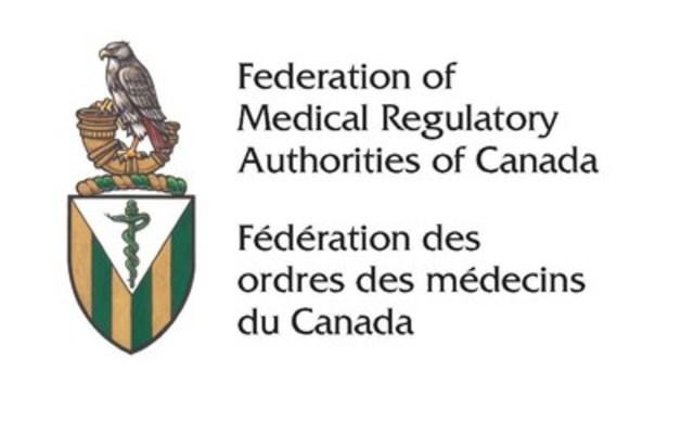 Logo: Federation of Medical Regulatory Authorities of Canada (CNW Group/Federation of Medical Regulatory Authorities of Canada)