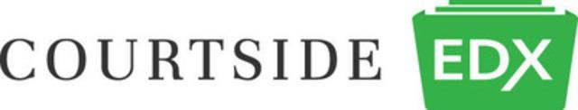 CourtSide EDX logo (CNW Group/CourtSide EDX)