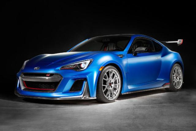 Subaru dévoile le concept STI Performance au Salon de l'auto 2015 de New York (Groupe CNW/Subaru Canada, Inc. )