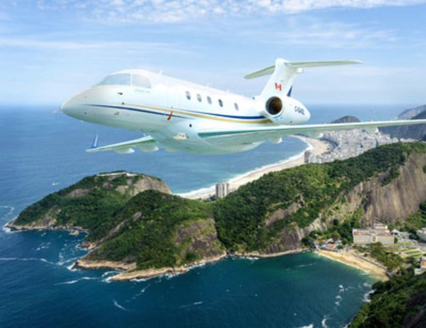 « Le choix du Embraer Legacy 450 permettra à nos clients de voyager sur des destinations plus éloignées, telles qu'Hawaii et les Iles Vierges » (Groupe CNW/AirSprint Inc.)