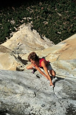 Lynn Hill in Yosemite Valley (CNW Group/Banff Centre for Arts and Creativity)