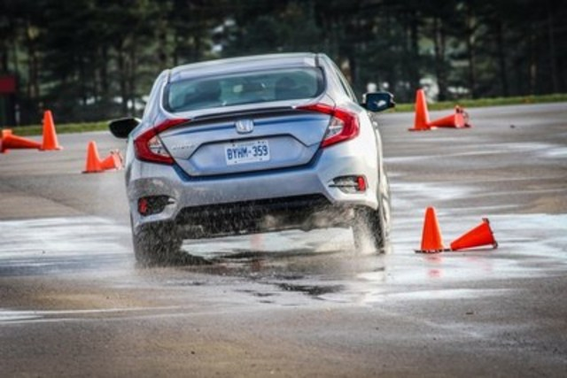 Handling Course Testing Day 3 (CNW Group/Automobile Journalists Association of Canada)