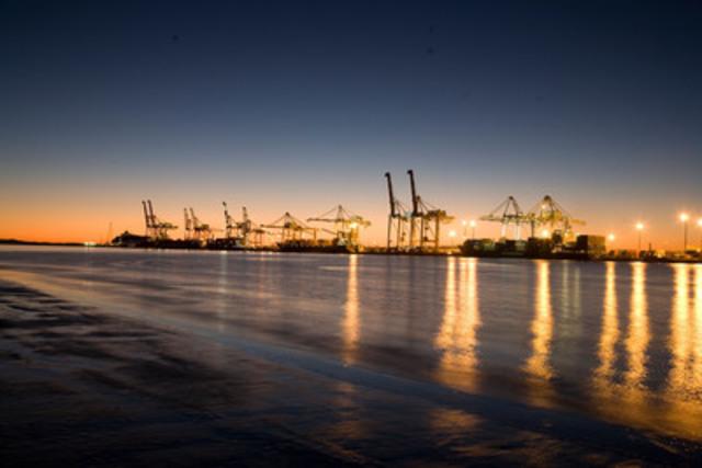 Le Port de Brisbane est le troisième plus important port à conteneurs de l'Australie. Chaque année, environ 50 milliards de dollars de marchandises internationales y transitent. (Groupe CNW/Caisse de dépôt et placement du Québec)