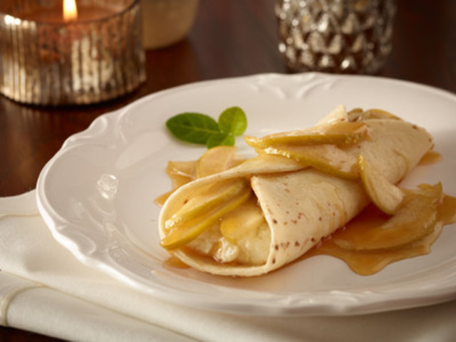 Udi's Caramelized Apple Ricotta Mexican Crepe (CNW Group/Udi's Healthy Foods LLC)
