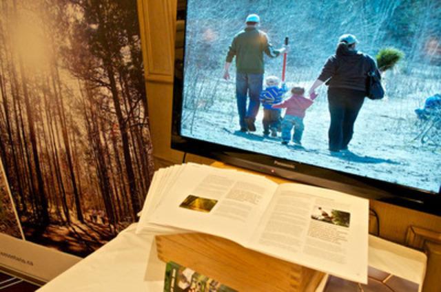Le document d'Arbres Ontario étudie les liens entre nos forêts et la santé humaine (Groupe CNW/Trees Ontario)