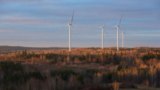 Parc éolien communautaire Viger-Denonville, au Québec (Groupe CNW/Innergex énergie renouvelable inc.)