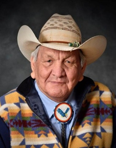 Artist Alex Janvier will receive an honorary doctorate at OCAD University's June 10 convocation ceremony. Photo Kim Griffiths Photography (CNW Group/OCAD University)