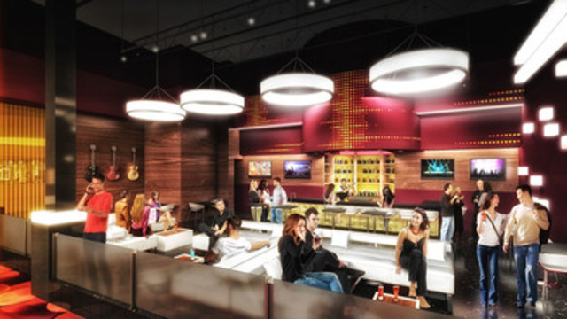 Renderings: Hard Rock Casino Vancouver - Kitchen and Lounge (CNW Group/Great Canadian Gaming Corporation)
