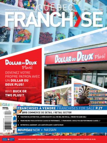 Pour Acheter ou Vendre une Franchise. (Groupe CNW/Magazine Québec Franchise)