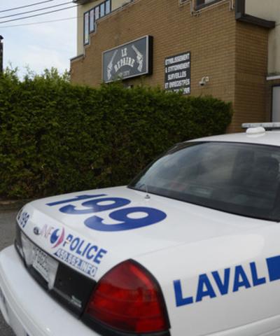 Perquisitions de stupéfiants à Laval (Groupe CNW/Ville de Laval)
