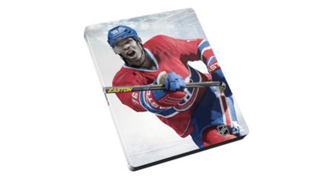 Les amateurs des Canadiens de Montréal seront heureux d'apprendre qu'une image brillante de P.K. Subban apparaît sur ce coffret SteelbookMC NHL 15 exclusif à Future Shop. Les magasins Future Shop du Québec ouvrent leurs portes à 8 h demain, HNE, pour un triple lancement : Destiny, NHL 15 et Capitaine America : Le soldat de l'hiver. (Groupe CNW/Future Shop)