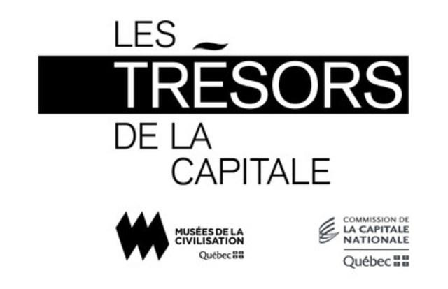 Logo : Les Trésors de la capitale (Groupe CNW/Commission de la capitale nationale du Québec (CCNQ))