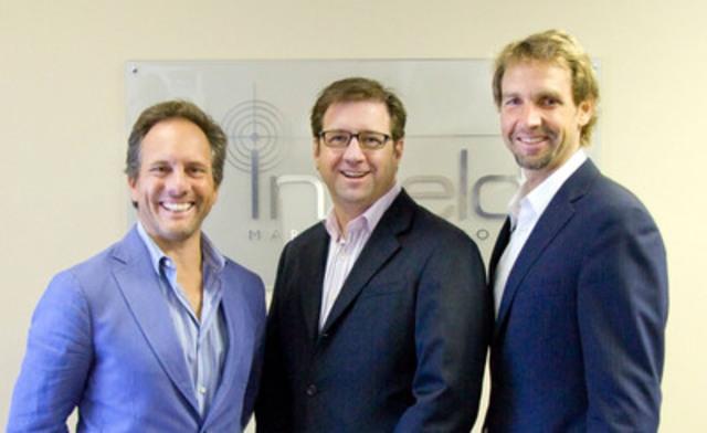 Nick Jelinek welcomes Derek Joynt and Martin Rydlo (CNW Group/InField Marketing Group Inc.)