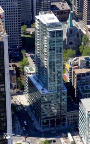 La Tour AIMIA est la première au centre-ville de Montréal à obtenir la certification LEED® Canada NE Or. (Groupe CNW/Corporation immobilière Kevric)