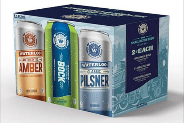 Waterloo Spring Sampler (CNW Group/Brick Brewing Co. Limited)