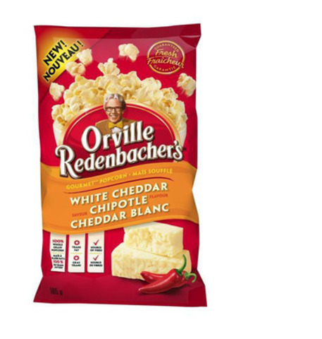 Orville Redenbacher's new ready to eat, White Cheddar Chipotle Gourmet Popcorn (CNW Group/ConAgra Foods, Inc.)