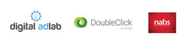 Digital AdLab, DoubleClick by Google, and the National Advertising Benevolent Society (NABS) (CNW Group/Digital  ...