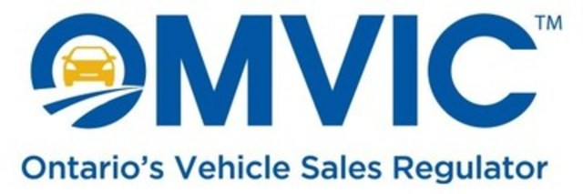 OMVIC - Ontario's vehicle sales regulator (CNW Group/Ontario Motor Vehicle Industry Council (OMVIC))
