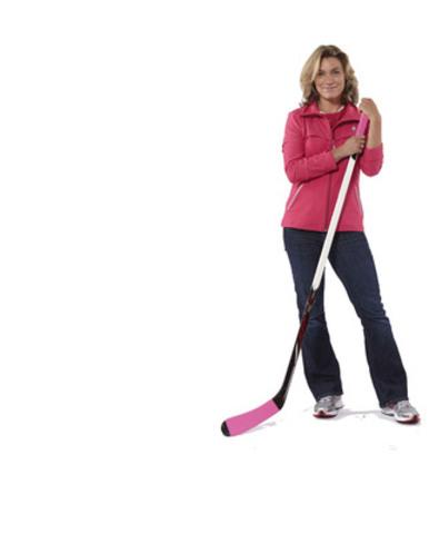 Cheryl Pounder, Championne olympique médaillée or à deux reprises, Hockey femmes (Groupe CNW/Banque CIBC)