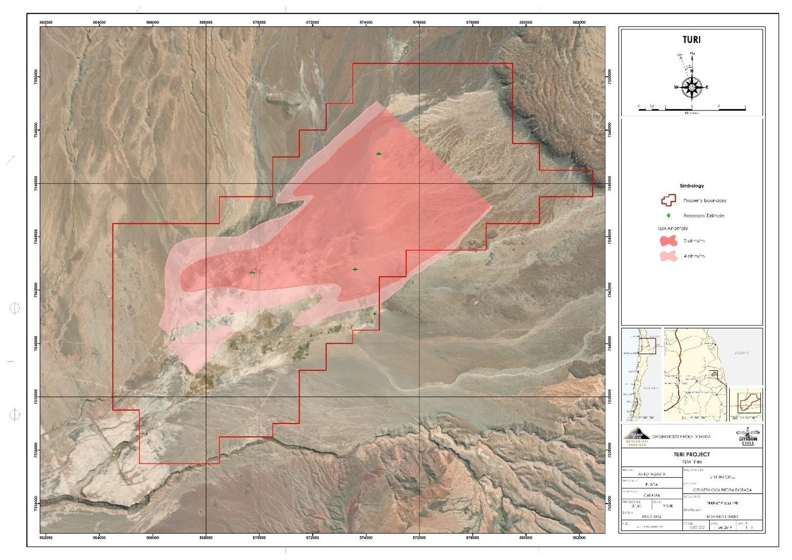 Turi Project - 3 Drill Locations