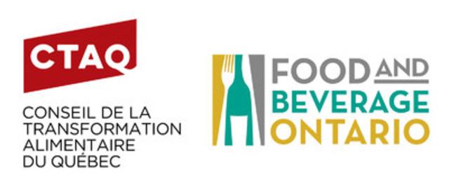 Conseil de la transformation alimentaire du Québec (CTAQ); Food and Beverage Ontario (FBO) (CNW Group/Food and Beverage Ontario)