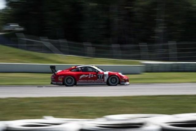 Daniel Morad termine les épreuves 11 et 12 de la série Ultra 94 Porsche GT3 Cup Challenge Canada 2016 présentée par Yokohama en seconde et cinquième place respectivement. (Groupe CNW/Automobiles Porsche Canada)