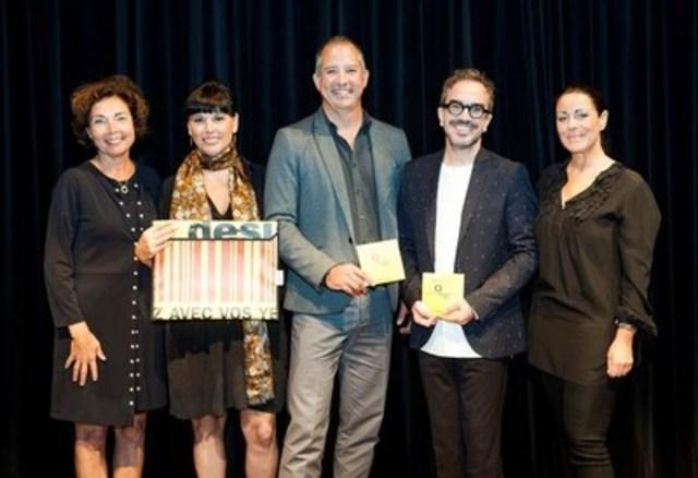 La Ville de Montréal annonce les lauréats du Prix du public : La Maison Simons, architectes LemayMichaud et Figure3 (Groupe CNW/Ville de Montréal - Bureau du design)