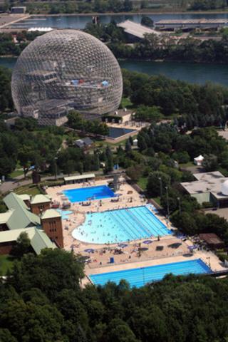 Complexe aquatique du parc Jean-Drapeau (Groupe CNW/SOCIETE DU PARC JEAN-DRAPEAU)