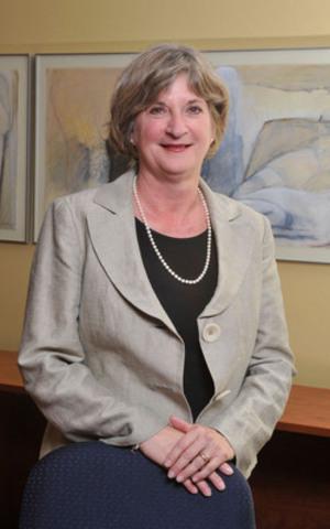 Madame Céline Durand, présidente de la Commission d'évaluation de l'enseignement collégial. (Groupe CNW/Commission d'évaluation de l'enseignement collégial)