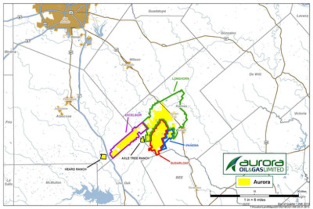Figure 1 (CNW Group/Aurora Oil & Gas Limited)
