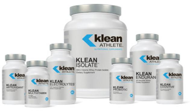 Nouvelle gamme de produits Klean Athlete(MC) maintenant disponible au Canada. (Groupe CNW/ATRIUM INNOVATIONS INC.)