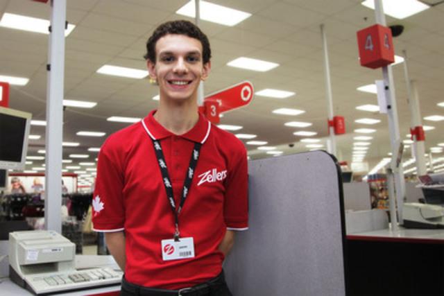 Jason the Cashier (CNW Group/Zellers Inc.)